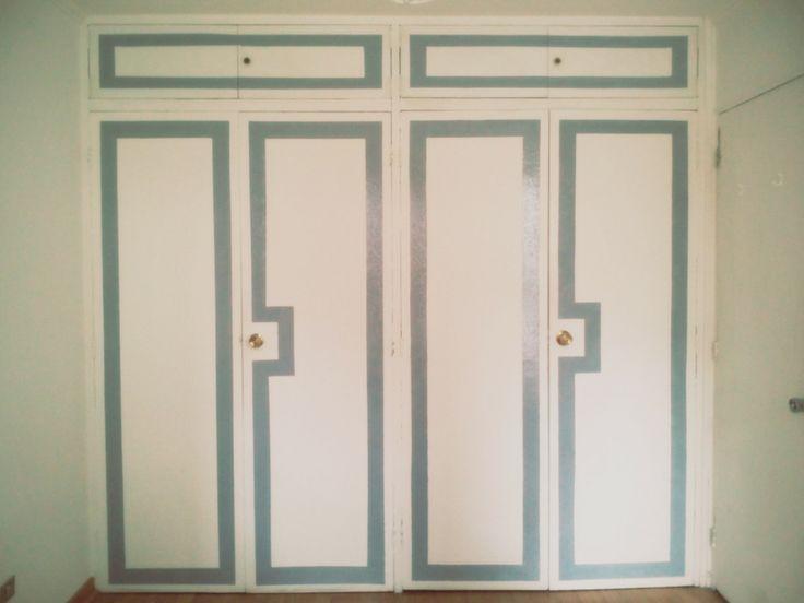 Painted Closet Door