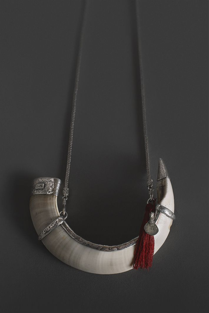 Ewa Tribal Jewelry Tusk Necklace Oceanic Art Papua New Guinea Art