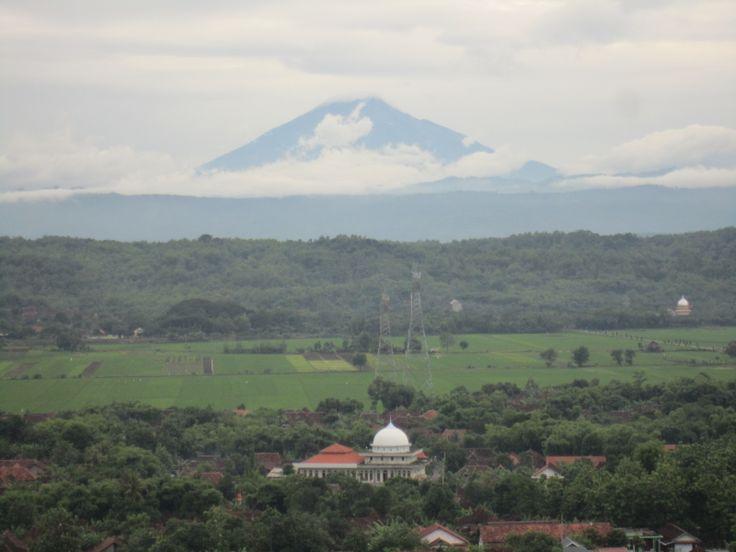 view at sumbersari kendal indonesia