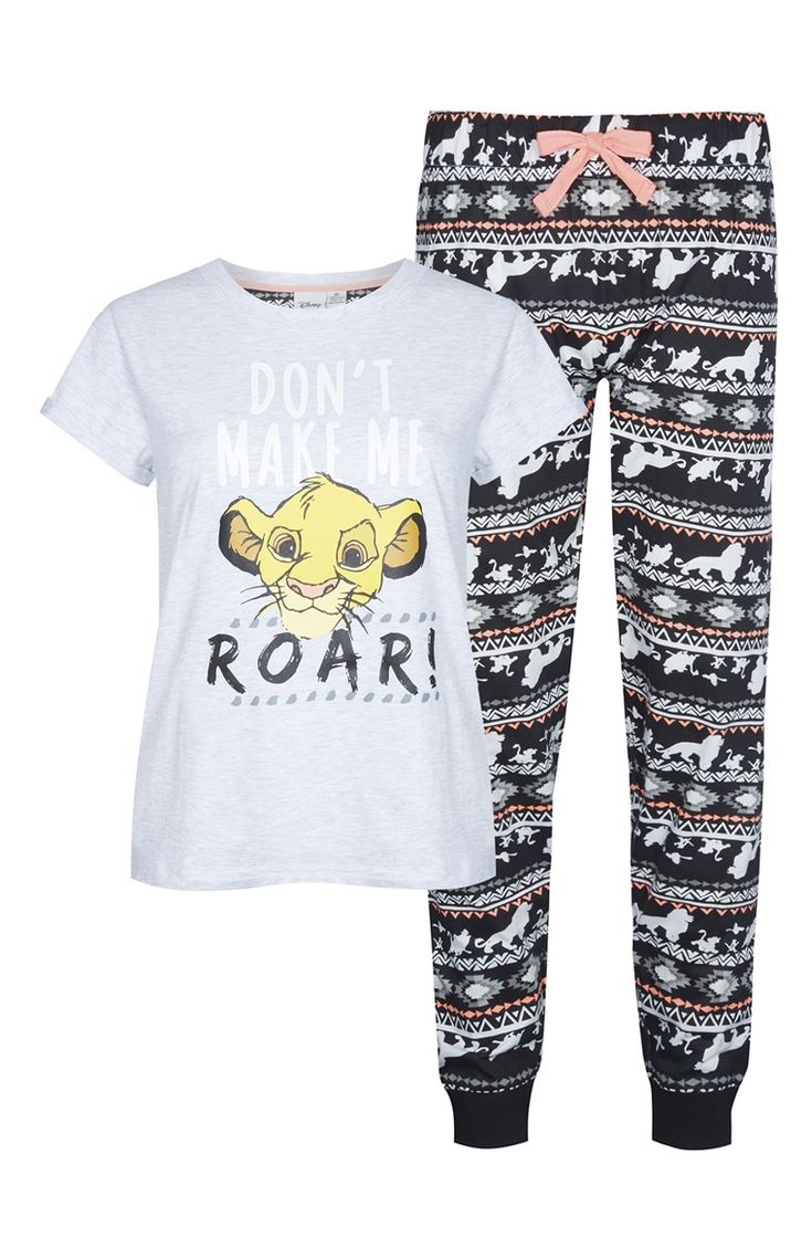 Primark - Disney Lion King PJ Set