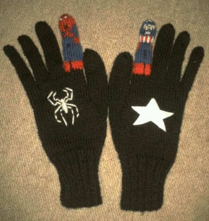 Marvellous gloves!
