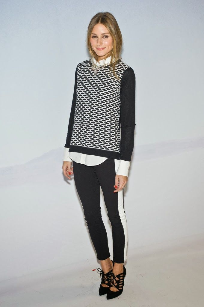 THE OLIVIA PALERMO LOOKBOOK: Olivia Palermo At Tibi NYFW 2014