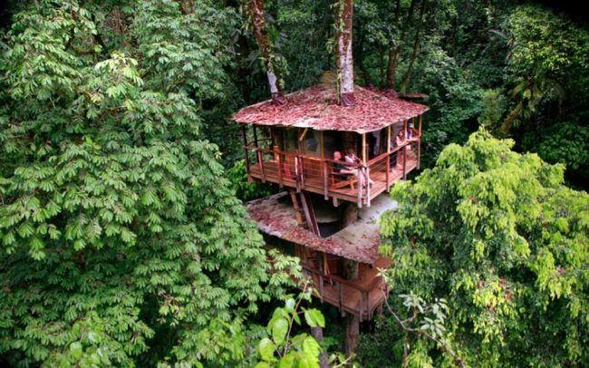 Haus im Wald-nachhaltig bauen Costa Rica
