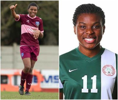 Super Falcons striker Ini-Abasi graduates with 1st class from University of Southampton