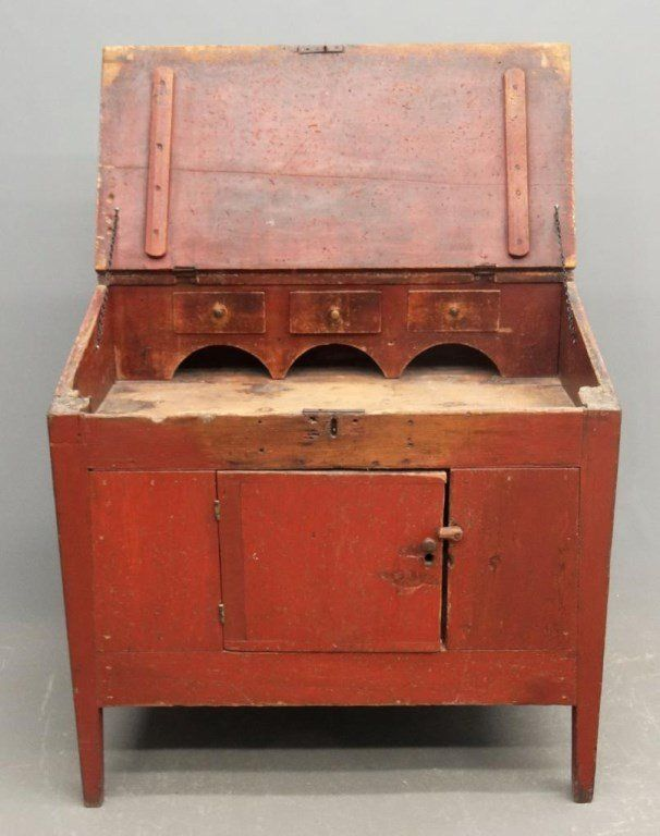19th c. Primitive Cupboard : Lot 14