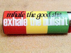 "NEW ""inhale the good sh.. exhale the bullsh.."" Bic lighter"