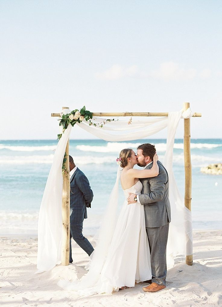 best beach wedding locations on budget%0A Stunning wedding ceremony on a Jamaican beach