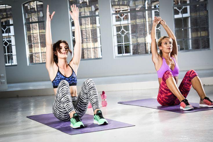 Geen workout inspiratie maar wel zin om te sporten? Doe dan deze full body workout voor thuis. Lekker samen knallen met de meiden van Model Workout.