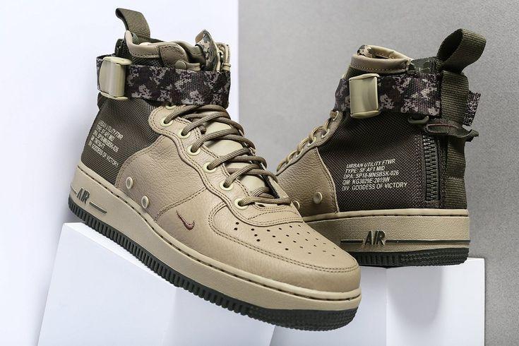 """Nike SF-AF1 """"Camo Strap"""" Pack - EUKicks.com Sneaker Magazine"""