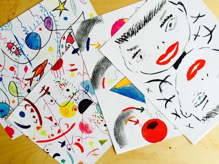 disegni di Gianni D'Amato