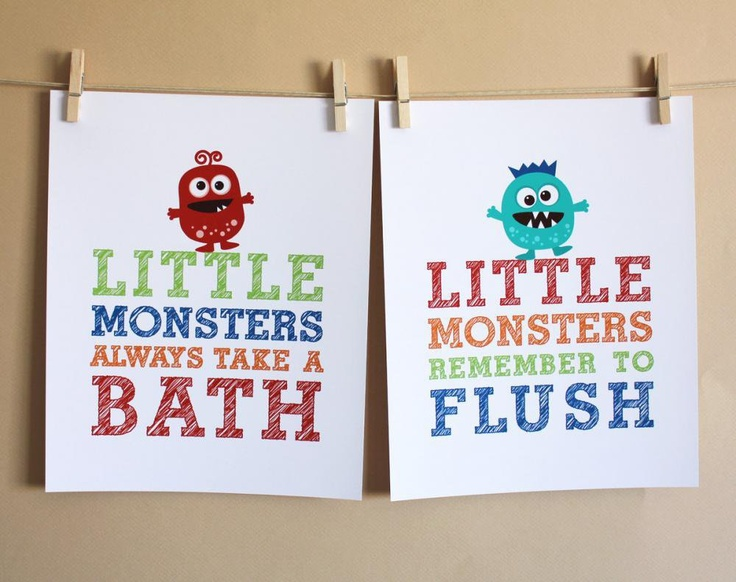 Kids Bathroom Wall Art 18 best kids bath images on pinterest | kid bathrooms, bathroom