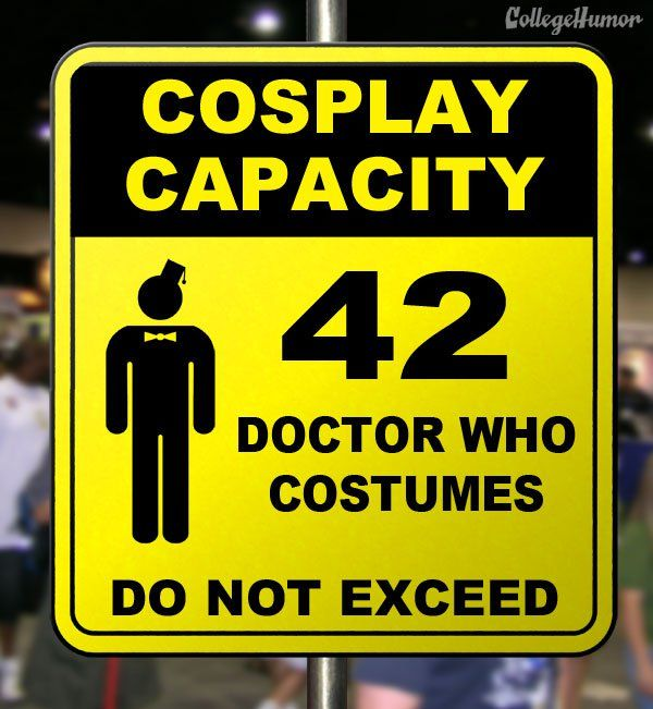 "LoL, silly.  Some of these signs should be up at Fanime.  ""If comic conventions had warning signs"""