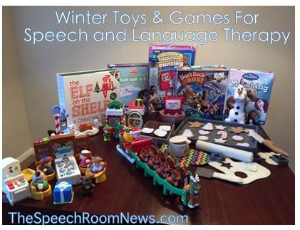 SLP Corner: Winter Toys and Games for Speech and Language Therapy - pinned by @PediaStaff – Please Visit ht.ly/63sNt for all our ped therapy, school & special ed pins