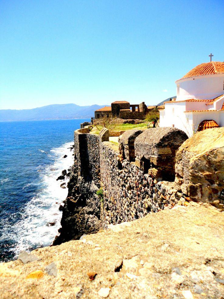 Monemvasia, Greece #monemvasia #greece #beautiful #sea #view
