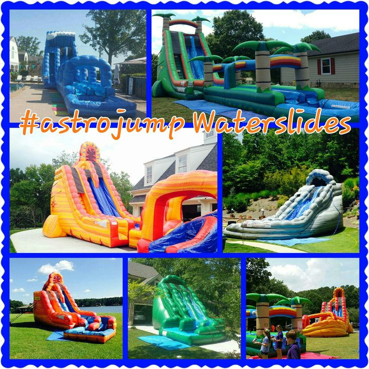 Inflatable Water Slide Party Rentals: 17 Best Images About Atlanta Inflatable Water Slide