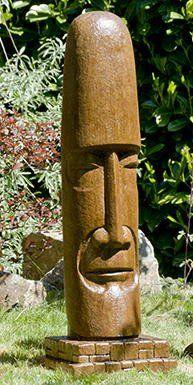 Tiki Head - Mesoamerican