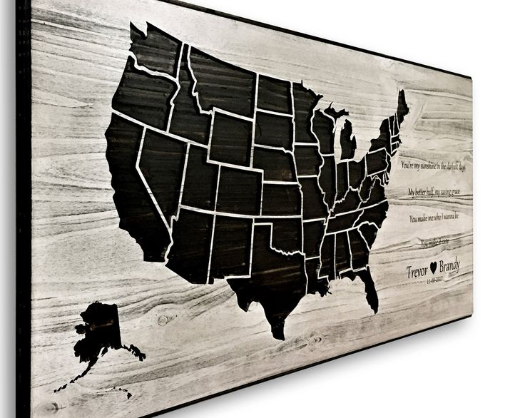 The 25 best Wooden map ideas on Pinterest Maps Map art and