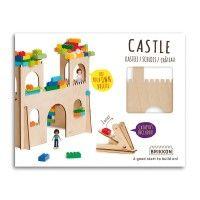 KASTEEL, BRIKKON, CASTLE, LEGO, BOUWEN, KIDS, PLAY, SPELEN