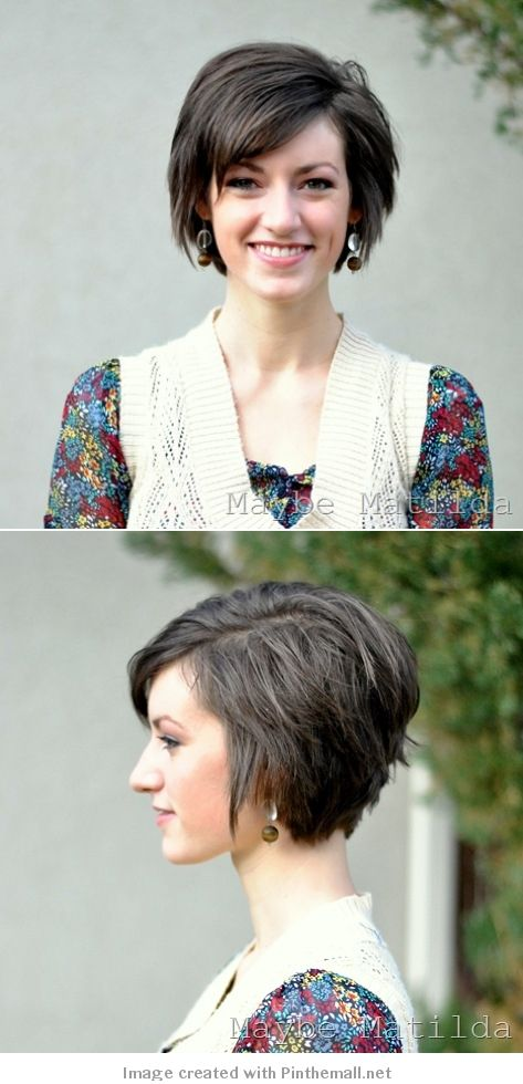 Cute Hair when growing out a Pixie haircut