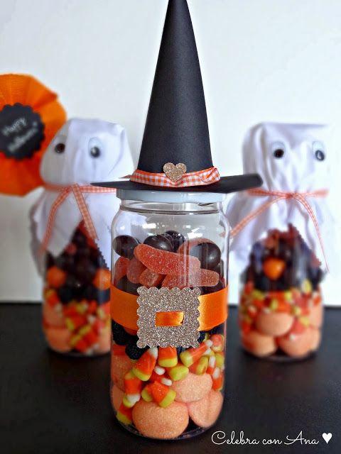 Celebra con Ana: ♥ Botes de chuches para Halloween