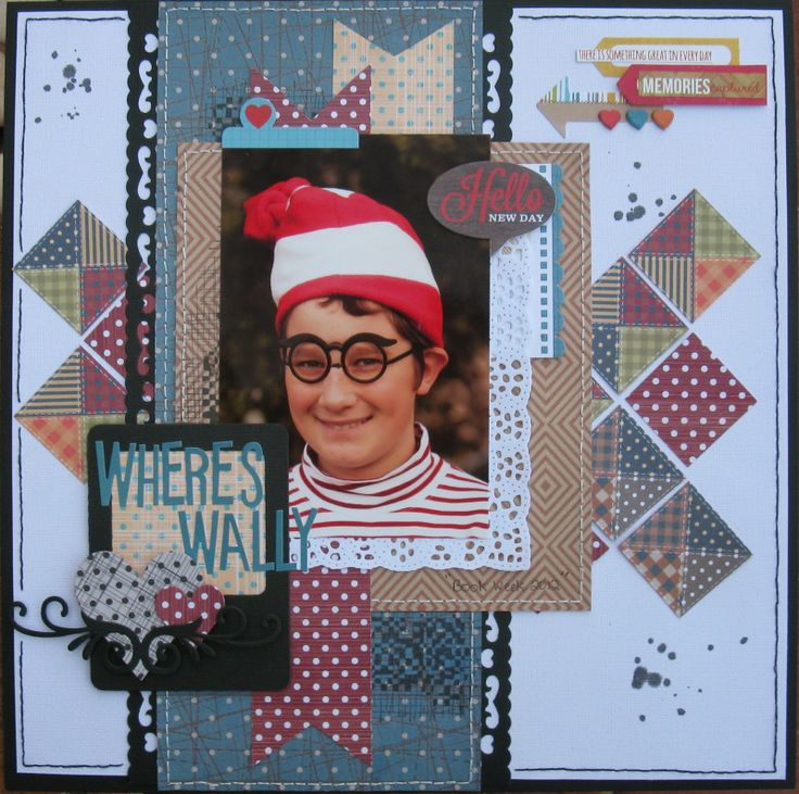 Couture Creations: Wheres Wally by Jo Piccirilli | #couturecreations #decorativedies #ornamentallacedies #doilydies #paperpads #sewjo #whereswally #dressup #costume #scrapbooking #cre8time