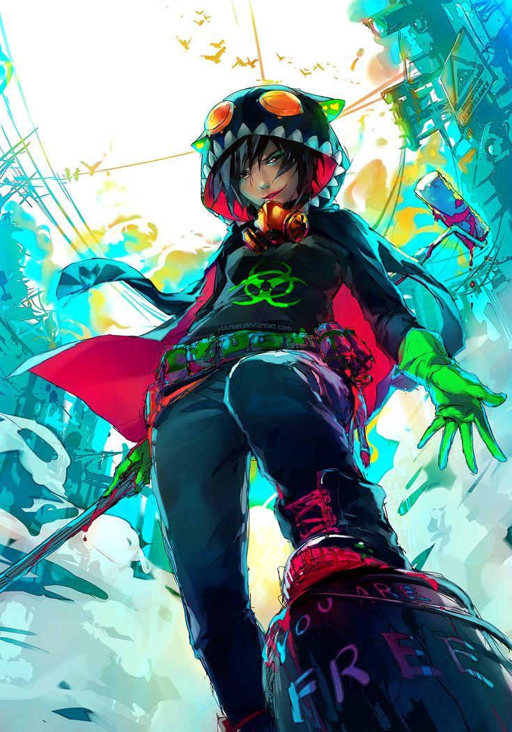 Wenqing Yan, plus connu sous le pseudonyme Yuumei, est une jeune et très talentueuse illustratrice originaire d'Asie mais basée aux Etats-Unis. Son style typé manga est très coloré et dynamique. Si la sélection ci-dessous vous plaît, nous ne pouvons que vous conseiller de visiter son DeviantArt et sa page Facebook.
