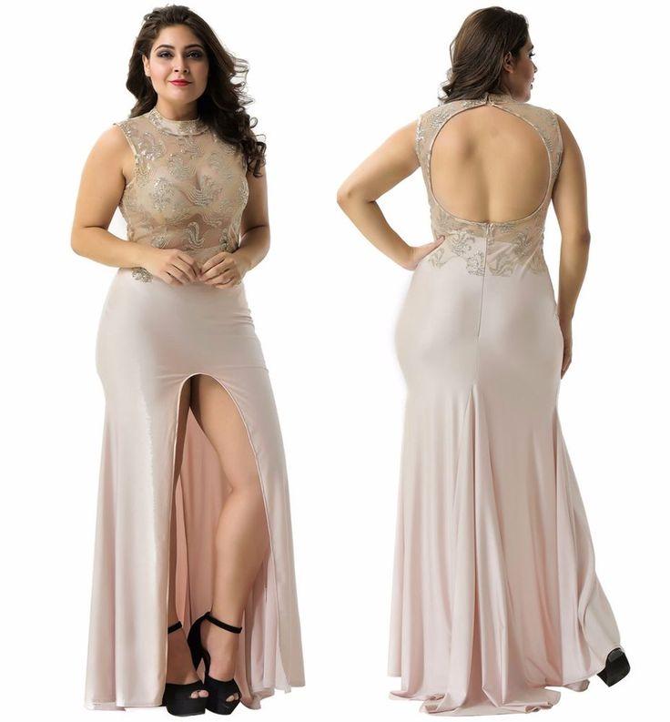 SZ 8-16 Elegant Classy Gold Glitter Mesh Lace Overlay Maxi Party Formal Dress  | eBay