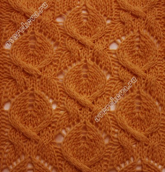 pretty lace and cable knitting stitch