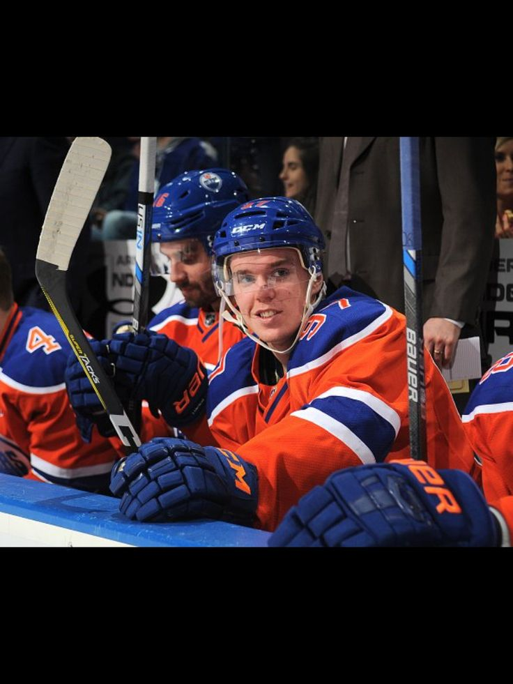 ... And people say McDavid hates playing for the Oilers...