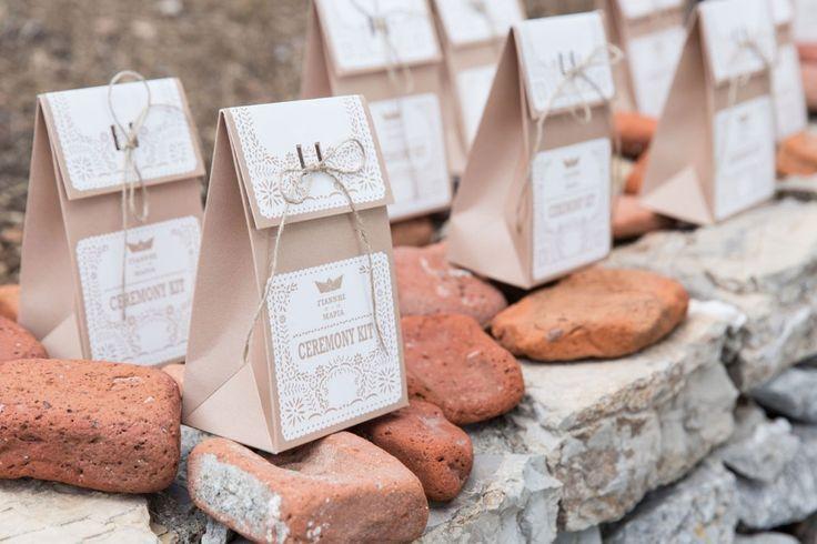 Rustic Wedding Stationary Ideas. Wedding ceremony kit