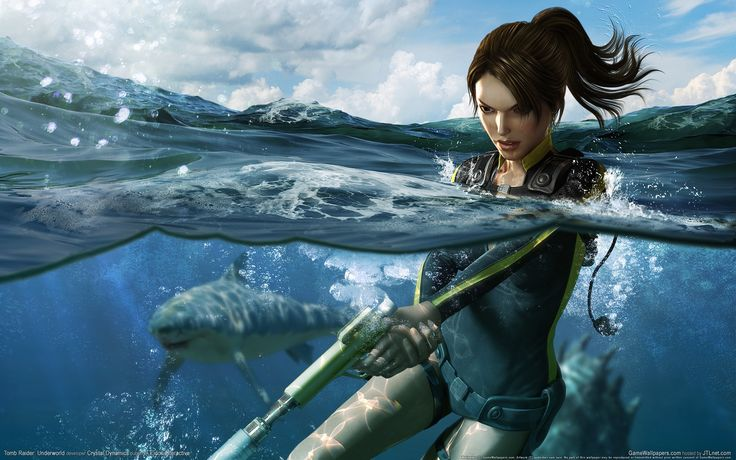 ArtStation - Tomb Raider Underworld - Lara Croft, Sze Jones