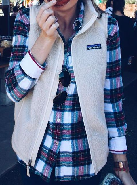 5 Ways to Style Flannels for Fall | http://www.hercampus.com/style/5-ways-style-flannels-fall