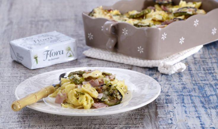Λαχταριστή συνταγή για Τορτελίνια φούρνου με κολοκυθάκια που θα σας ενθουσιάσει!