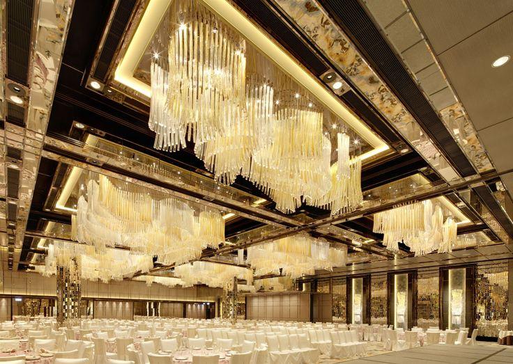 Chandeliers for the Ritz Carlton, Hong Kong