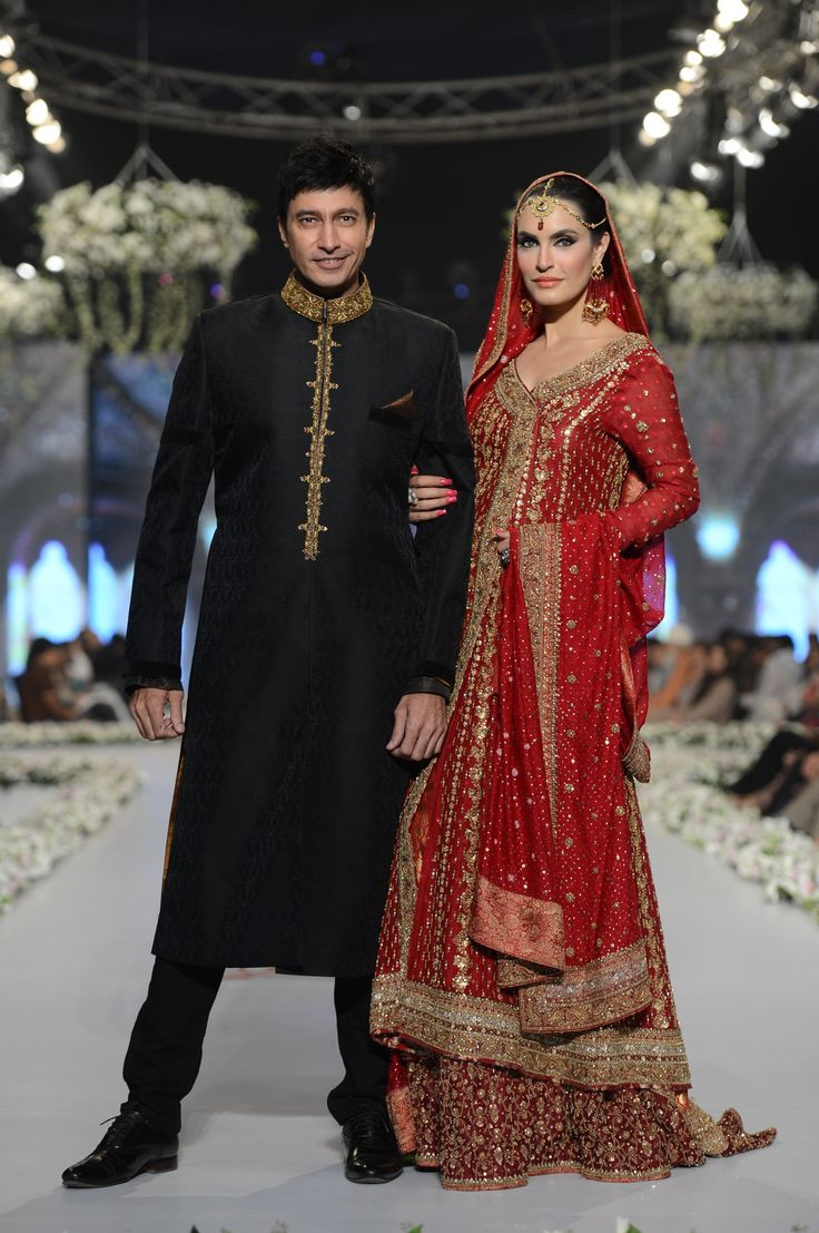 Bridal Couture Week 2014 | Aijazz Aslam and Nadia Hussain for Mifrah #BeautifulYou #Pakistan #fashion #hair #makeup #beauty