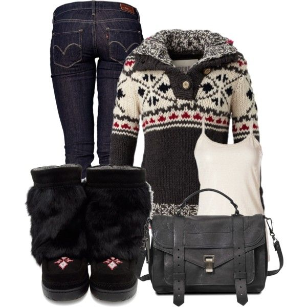 """Mukluk Comfort"" by christina-young on Polyvore"