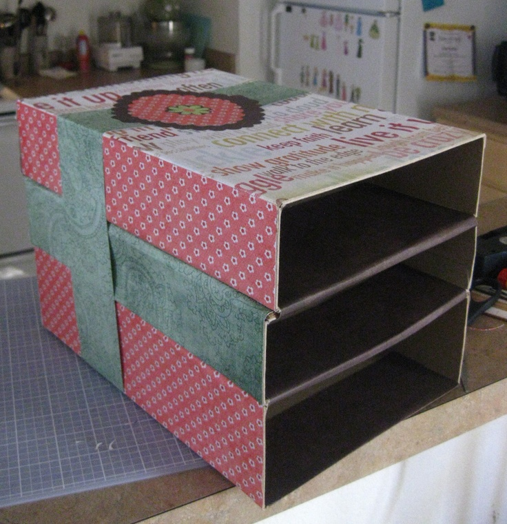 17 best images about cardboard box shelves and other ideas for What type of cardboard are cereal boxes made of