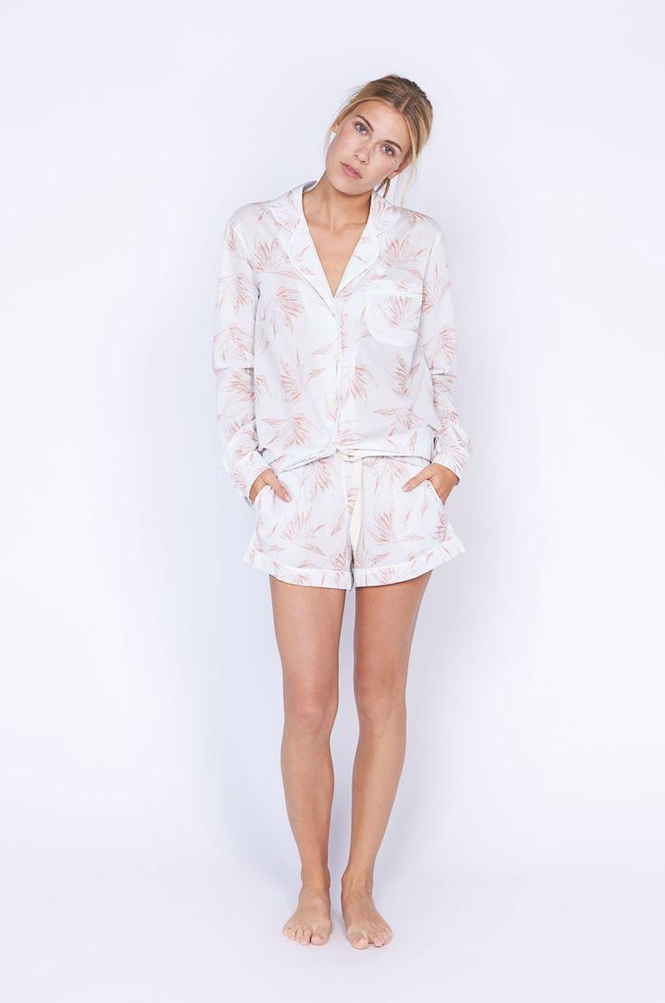 Deia Print Short Luxury Cotton Womens Pyjama Set