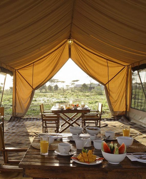 épinglé par ❃❀CM❁✿andBeyond Serengeti Under Canvas, Tanzania
