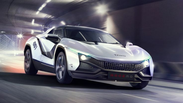 Indian giant company Tata motors launched its first sports car. Indian car manufacturer group Tata shows its car at the Geneva motor show