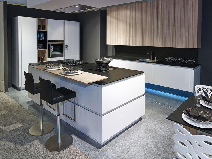 die besten 25 k che insel ideen auf pinterest u k che. Black Bedroom Furniture Sets. Home Design Ideas