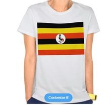 OEM Service design printing 3D Uganda flag T-Shirt  best seller follow this link http://shopingayo.space