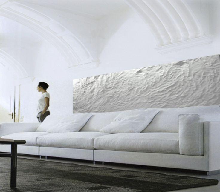 Soffitto Decorato Gesso: Rosonei in gesso decorato a mano ...