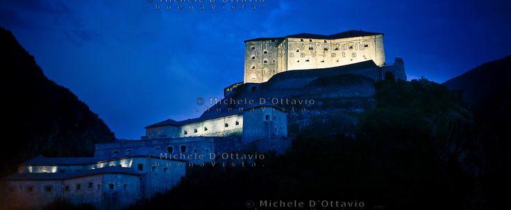 Forte di Bard, Valle d'Aosta, Italy.