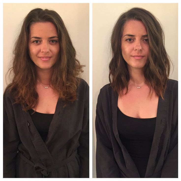 lob haircut before and after pin on my work