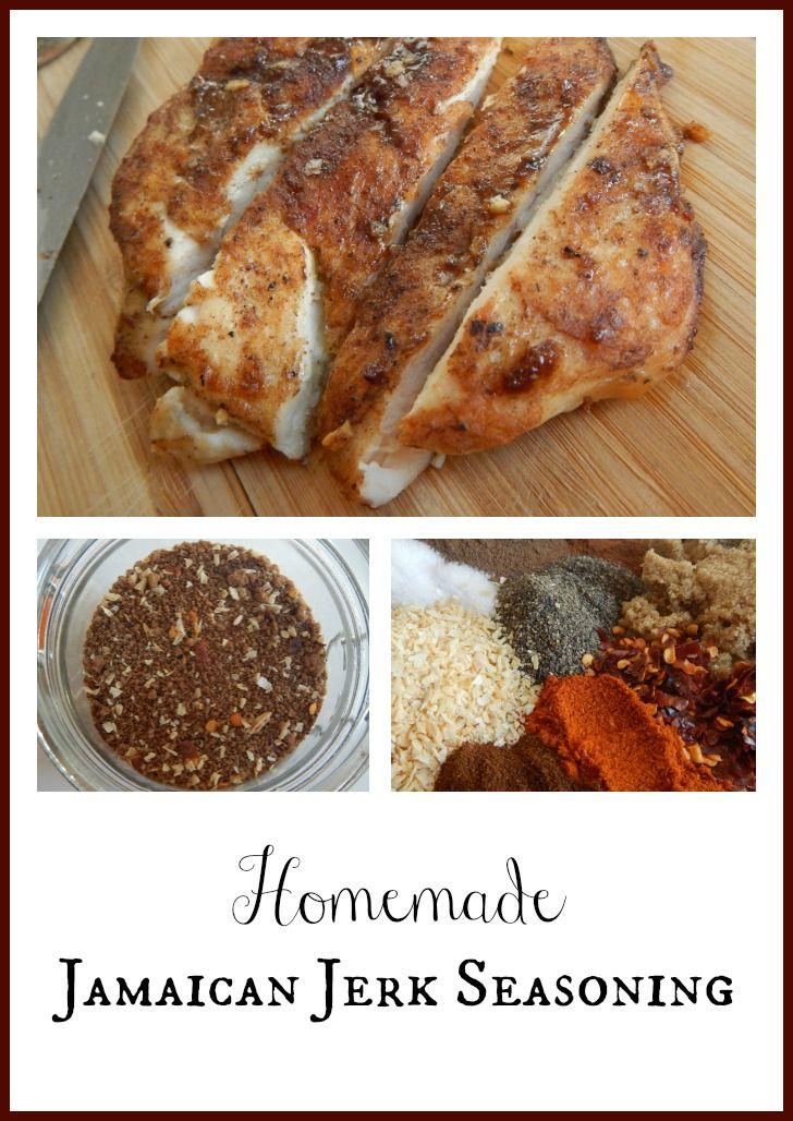 Homemade Jamaican Jerk Seasoning #recipe