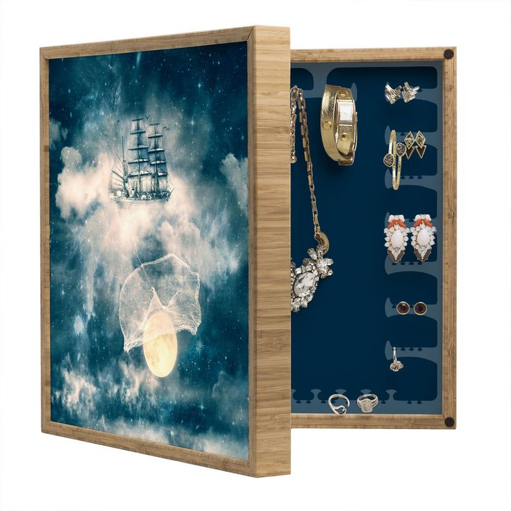 Belle13 I Am Gonna Bring You The Moon BlingBox Petite   DENY Designs Home Accessories
