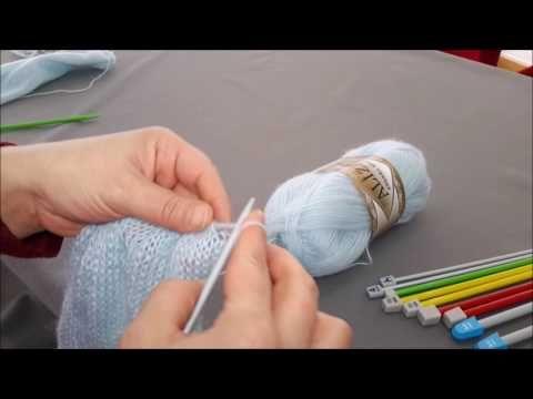 Kademeli Şiş ile Bluz Yapımı - YouTube