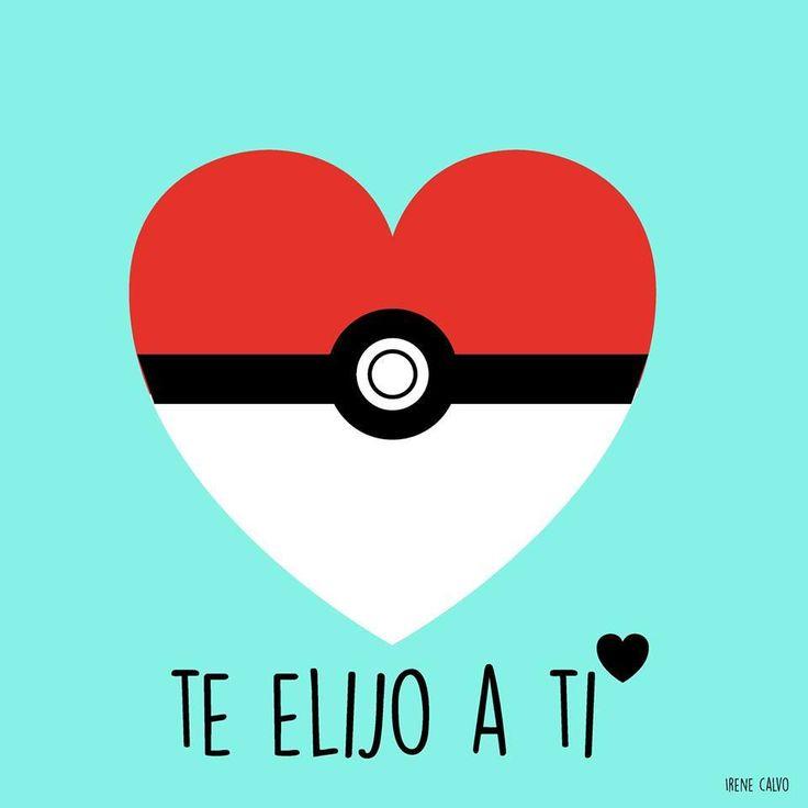 Ilustracion inspirada en Pokemon de Irene Calvo