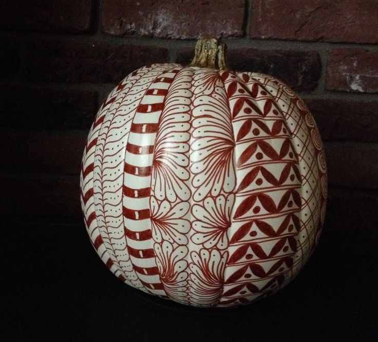 18 Best Zentangle Pumpkins Images On Pinterest